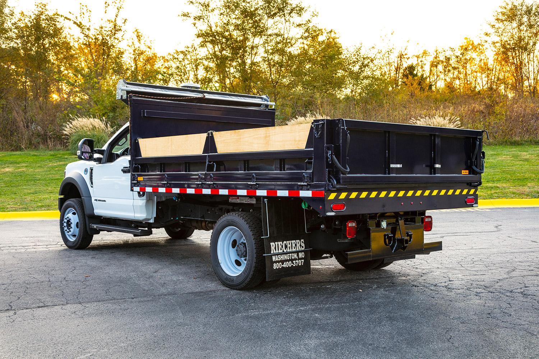 custom contractor truck body