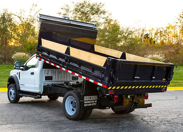 custom contractor truck bed