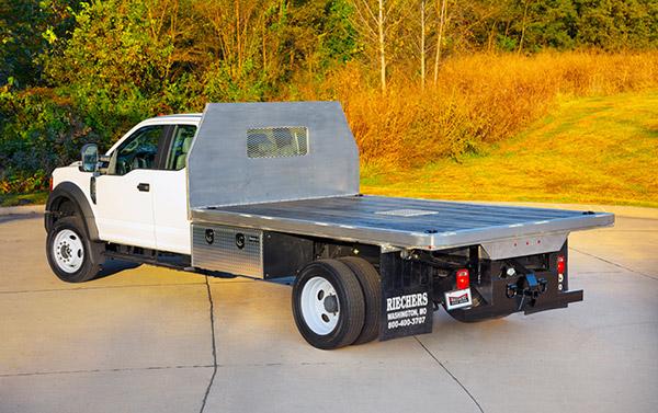 custom platform truck bed