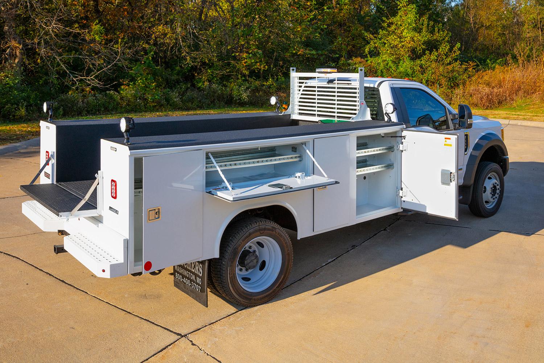 custom service truck body