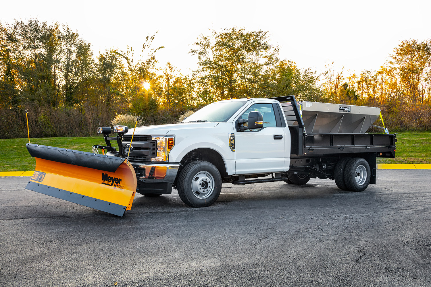 truck snow removal equipment